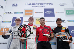 Podium: 1. Maximilian Günther, Prema Powerteam Dallara F317 - Mercedes-Benz; 2. Jake Hughes, Hitech Grand Prix, Dallara F317 - Mercedes-Benz; 3. Jehan Daruvala, Carlin, Dallara F317 - Volkswagen