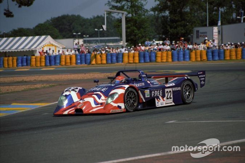 #22 Nissan R391, pemenang Le Mans Fuji 1000km 1999