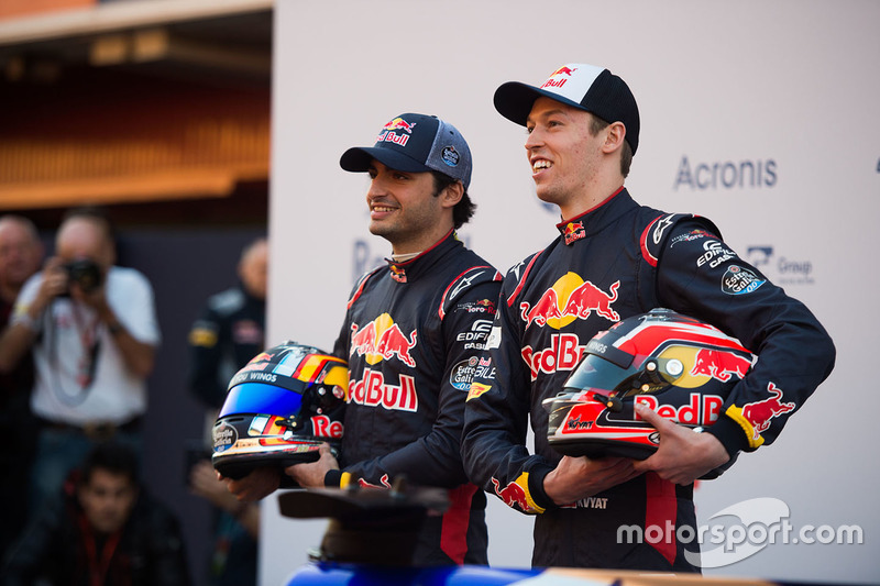 Даниил Квят, Карлос Сайнс, Scuderia Toro Rosso