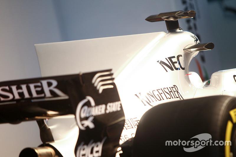 印度力量 VJM10 赛车赛车细节