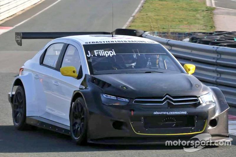 John Filippi, Sébastien Loeb Racing, Citroen C-Elysée WTCC