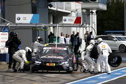 Marco Wittmann, BMW Team RMG, BMW M4 DTM, Boxenstopp