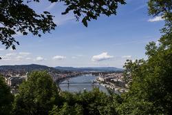 Вид на Будапешт