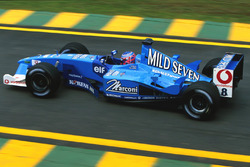 Jenson Button, Benetton B201