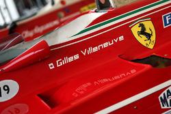 Former Gilles Villeneuve Ferrari 312