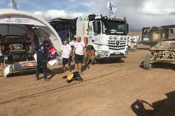 أضرار سيارة رقم304 فريق بيجو سبورت بيجو3008: كارلوس ساينز، لوكاس كروز
