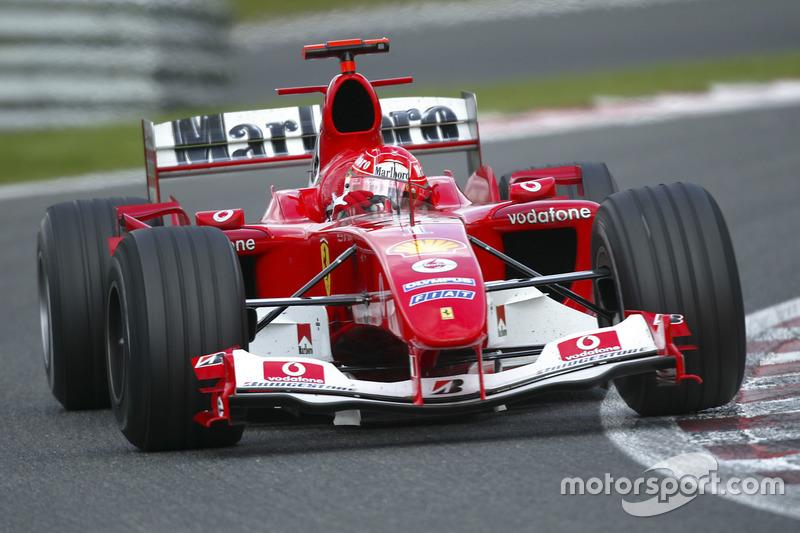2004: Michael Schumacher, Ferrari F2004