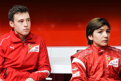 Enzo Fittipaldi, Marcus Armstrong, Ferrari Academy