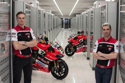Presentación Team Ducati