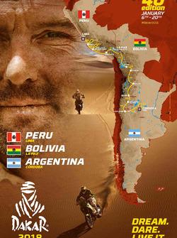 2017 Dakar-route