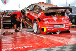 L'auto di Kris Meeke, Paul Nagle, Citroën C3 WRC, Citroën World Rally Team