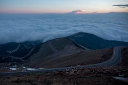 Pikes Peak atmosphere