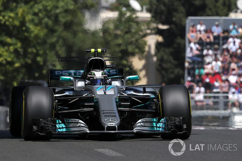3º Valtteri Bottas, Mercedes AMG F1 W08 (111 puntos)