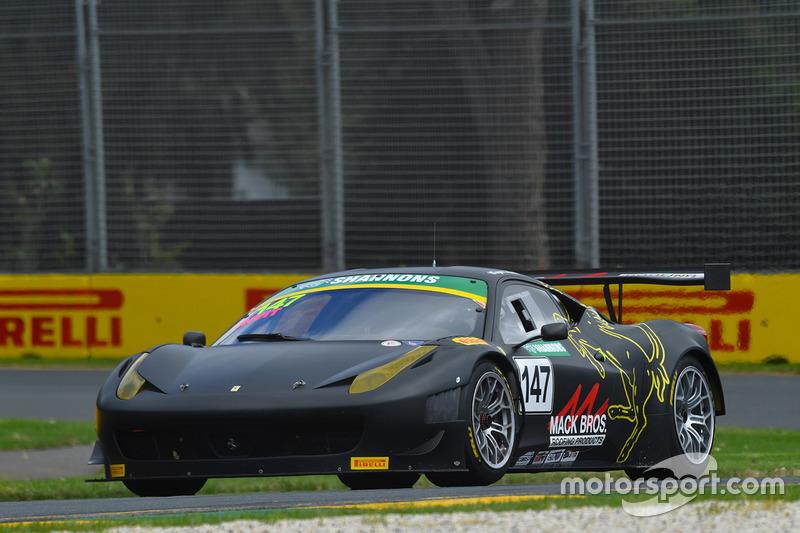#147 Ferrari 458 GT3: Wayne Mack