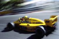Yarış galibi Ayrton Senna, Lotus-Honda