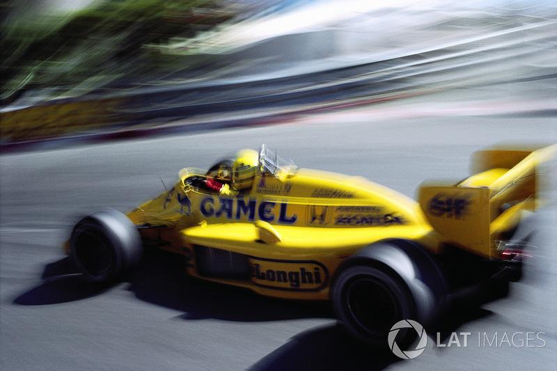 Senna también consiguió 5 pole position y estuvo en el podio 8 veces en Mónaco