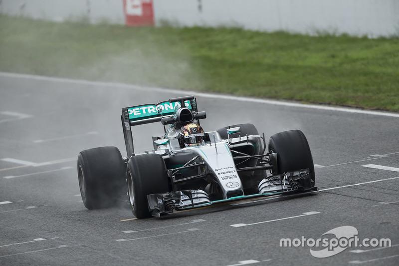 Pascal Wehrlein, Mercedes F1 Team teste les pneus Pirelli 2017