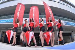 Lovely Honda girls