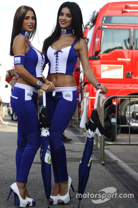 De charmantes Yamaha Girls