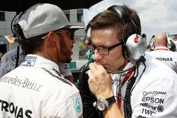 Льюїс Хемілтон, Mercedes AMG F1 на стартовій решітці