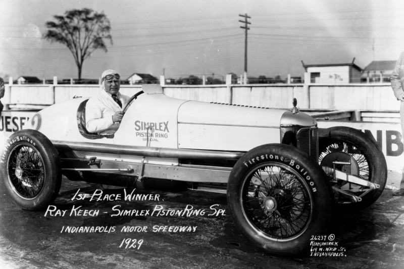 Race winner Ray Keech
