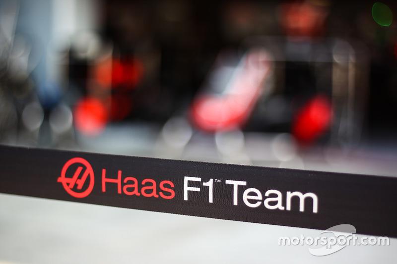 Haas F1 Team logo