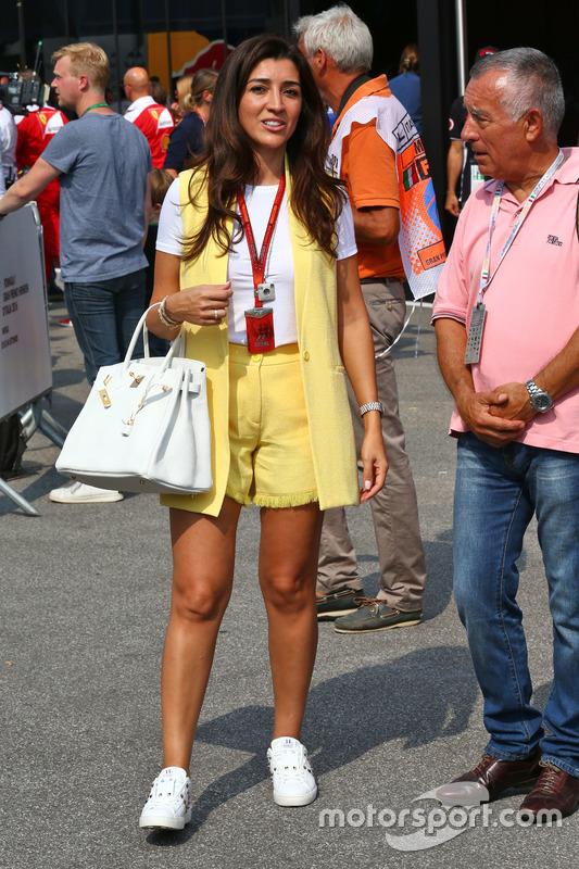 Fabiana Flosi,ve eşi Bernie Ecclestone