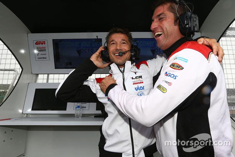 Lucio Cecchinello, Team LCR Honda Team Manager