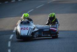 Michael Grabmuller, Manfred Wechselberger , Yamaha, Delta-Racing-Team