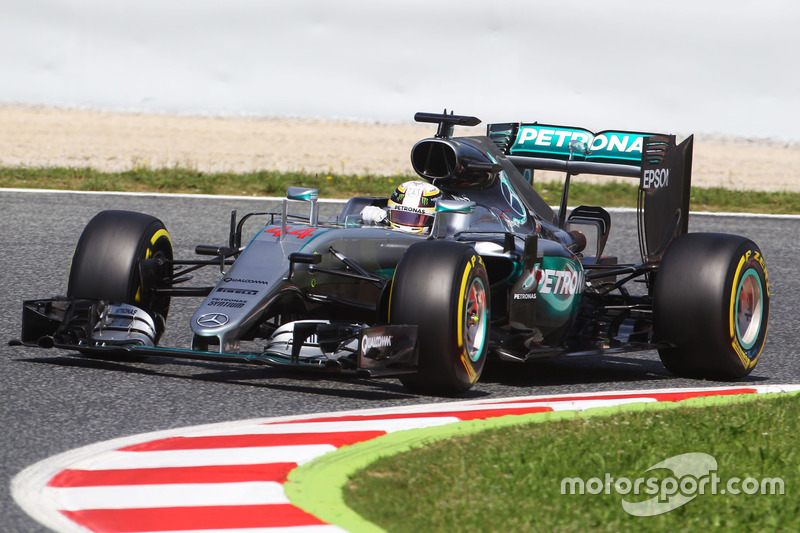 Spanien, Barcelona: Lewis Hamilton (Mercedes)