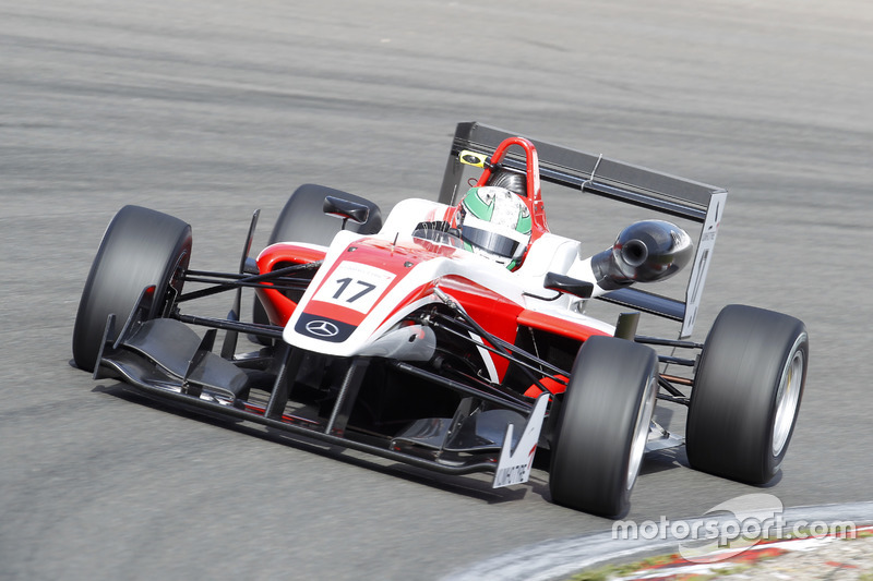 Sam MacLeod, Fortec Motorsport Dallara F312 – Mercedes