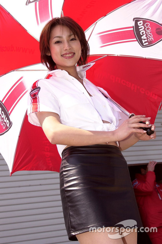 Lovely Ducati Corse girl