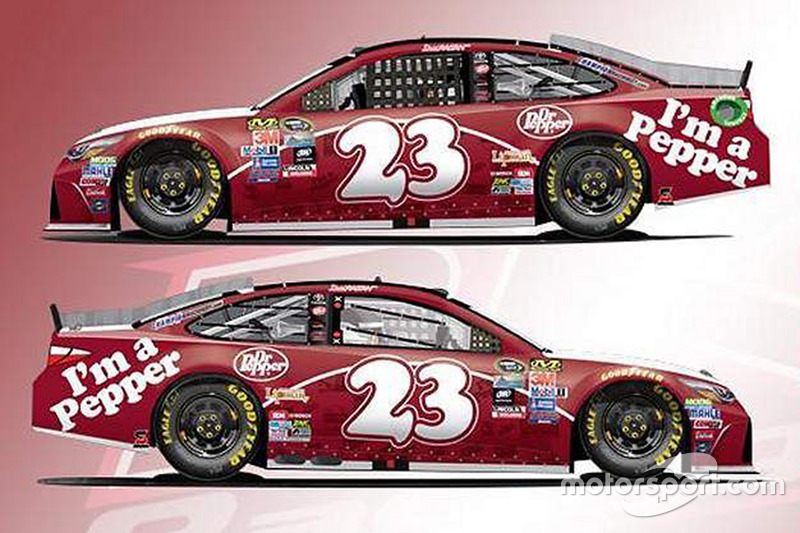 David Ragan, BK Racing Toyota, livrea speciale