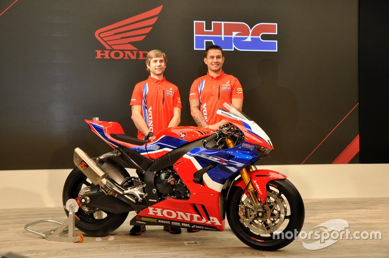 Honda Team launch