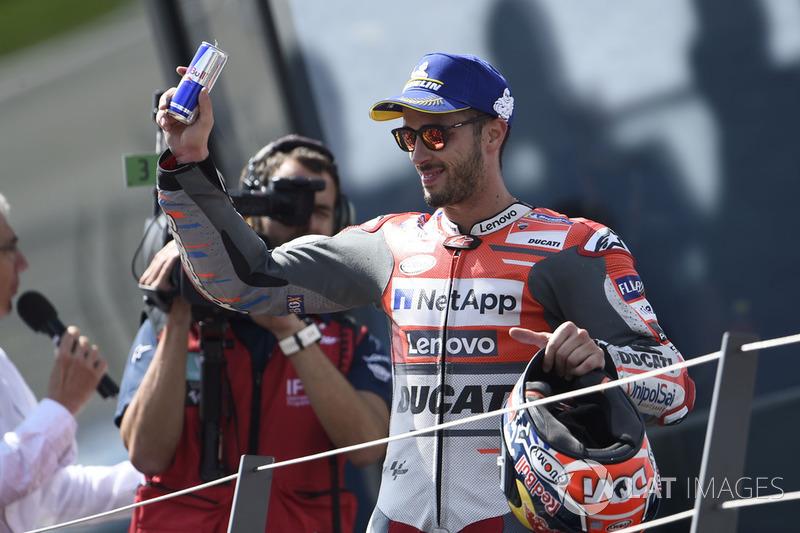 Third place Andrea Dovizioso, Ducati Team
