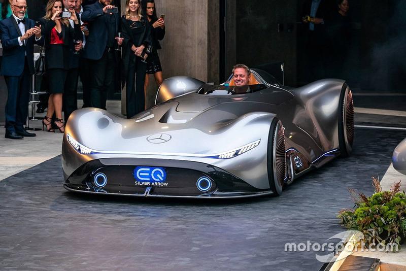 Mercedes Showcar EQ Silver arrow