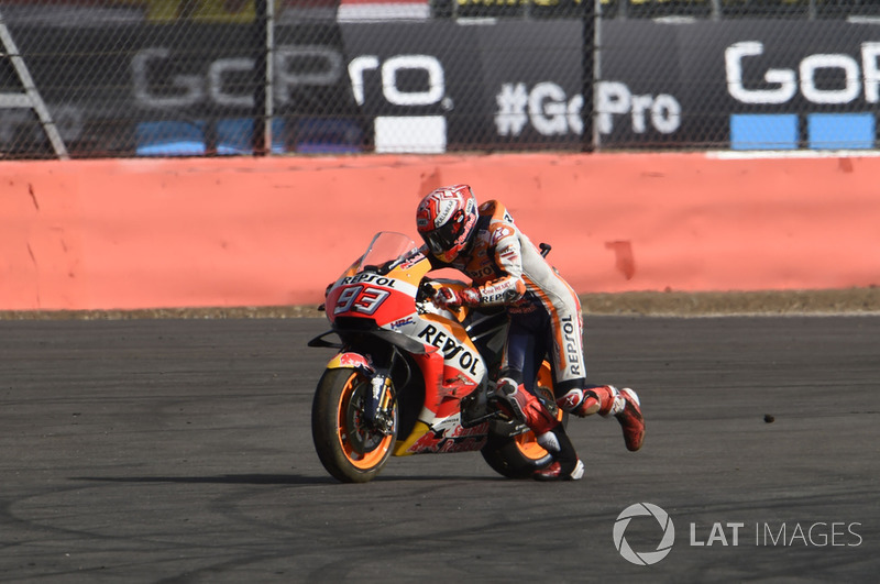 Marc Marquez, Repsol Honda Team, setelah kecelakaan
