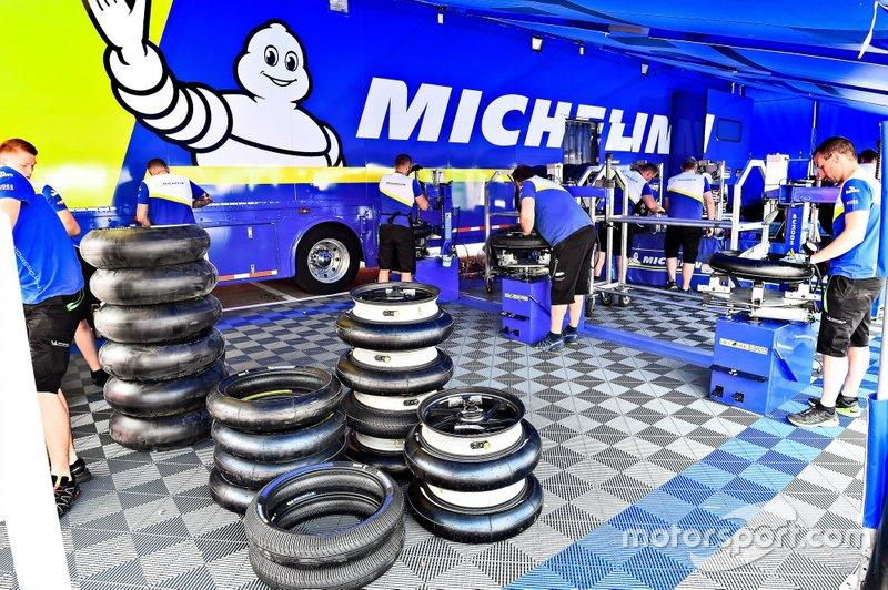 L'équipe technique Michelin
