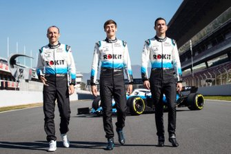 George Russell, Williams, Robert Kubica, Williams, Nicholas Latifi, Williams