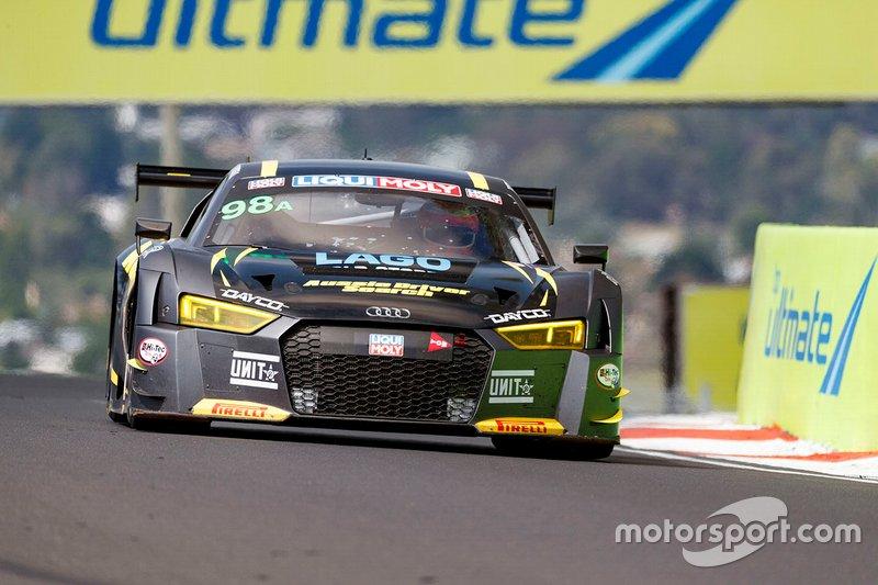 10. #98 Matt Stone Racing Audi R8 LMS: Todd Hazelwood, Roger Lago, David Russell