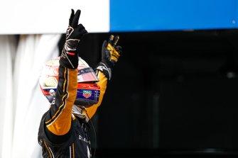 Jean-Eric Vergne, DS TECHEETAH, celebrates victory