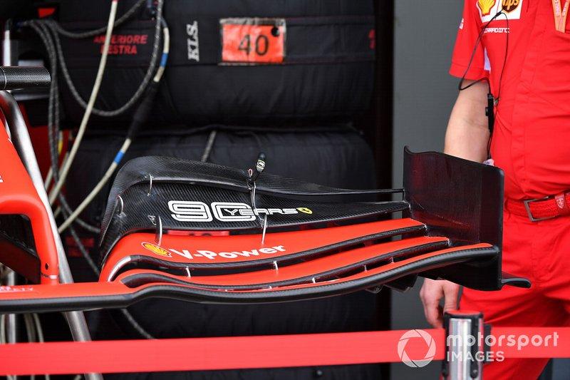 Ala anteriore della Ferrari SF90