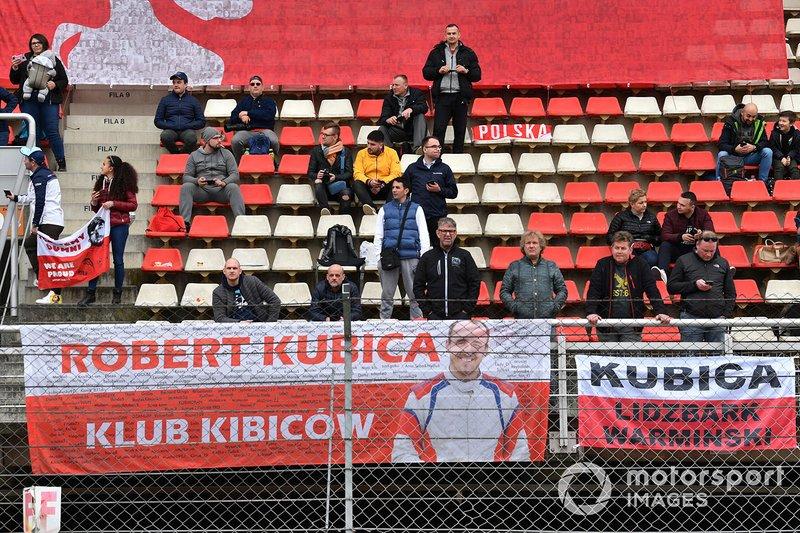Des fans de Robert Kubica, Williams Racing