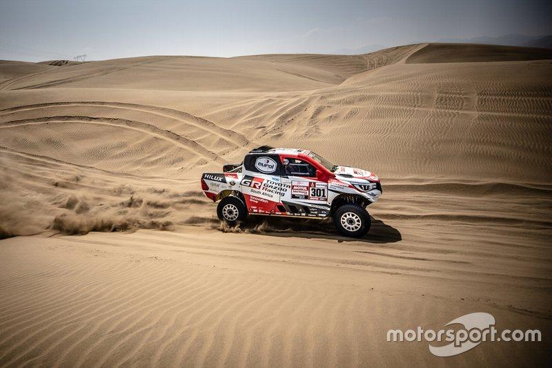 #301 Toyota Gazoo Racing SA: Нассер Аль-Аттія, Маттьйо Бомель