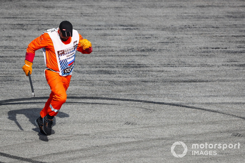 Marshal on track