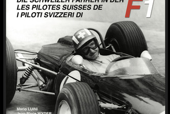 I piloti svizzeri di F1, copertina, primo volume