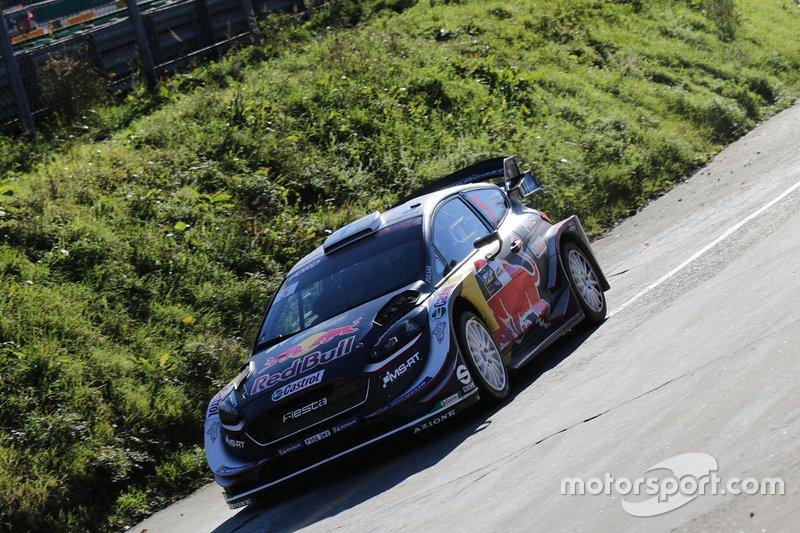 Teemu Suniinen, Marko Salminen, Ford Fiesta WRC, M-Sport Ford