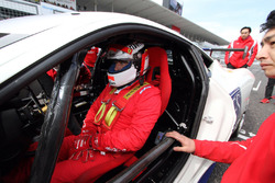 Jean Alesi, Ferrari 458 Challenge