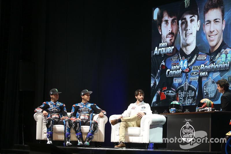 Enea Bastianini, Estrella Galicia 0,0 Marc VDS, Aron Canet, Estrella Galicia 0,0 Marc VDS, Jordi Arquer