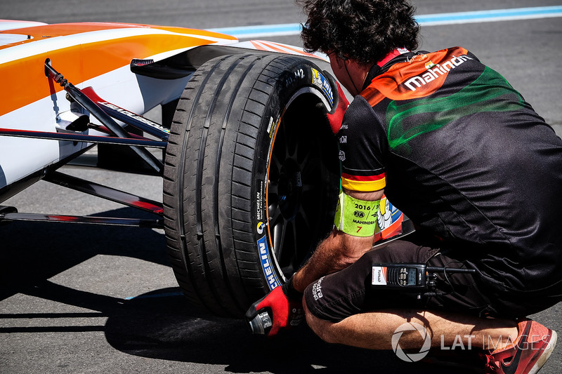 Mahindra Racing mechanic